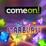 Starburst free spins win at ComeOn casino - Holiday with the kids