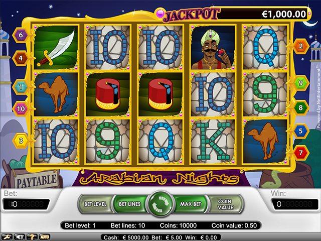 Spiele Arabian Nights (Netent) - Video Slots Online