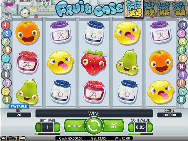 30 fruit case slot