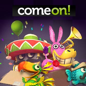 Spinata Grande free spins win at ComeOn casino – Video games, or Music? Or both!