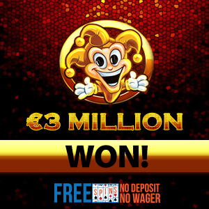 Joker Million slots winner