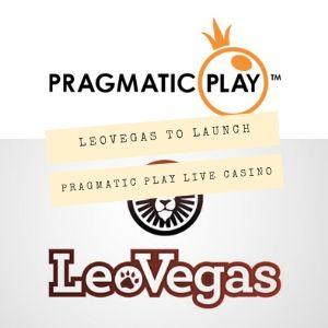 leovegas launches pragmatic play live casino