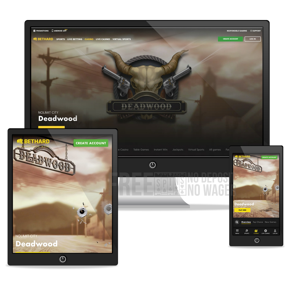 bethard desktop, tablet, mobile view